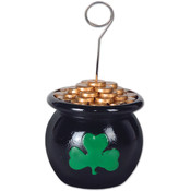 Pot-O-Gold Photo/Balloon Holder Wholesale Bulk