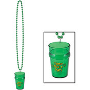 Beads w/St Pat's Glass