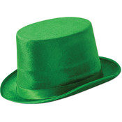 Green Vel-Felt Top Hat Wholesale Bulk