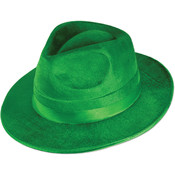 Green Vel-Felt Fedora Wholesale Bulk