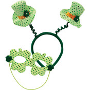 Leprechaun Hat Boppers w/Mask Wholesale Bulk