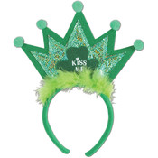 Shamrock Tiara Headband Wholesale Bulk