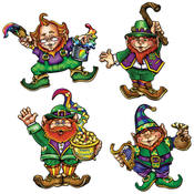 Leprechaun Linking Cutouts
