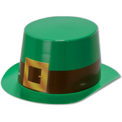 Miniature Green Plastic Topper w/Buckle Band Wholesale Bulk