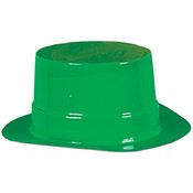 Miniature Green Plastic Topper Wholesale Bulk