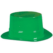 Packaged Miniature Green Plastic Toppers Wholesale Bulk