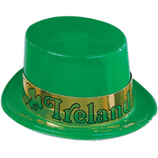 Plastic Irish Topper w/Band Wholesale Bulk