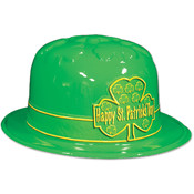Plastic St Patrick's Day Shamrock Derby Wholesale Bulk