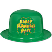 Plastic Happy St Patrick's Day Derby Wholesale Bulk