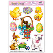 Easter Animal Clings
