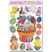 Easter Basket Clings