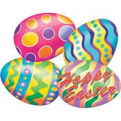 Packaged Easter Egg Cutouts