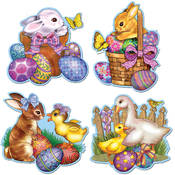 Packaged Easter Cutouts