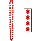 Jumbo Party Beads - Red Wholesale Bulk