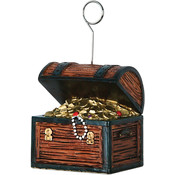 Treasure Chest Photo/Balloon Holder Wholesale Bulk