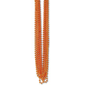 Bulk Party Beads - Small Round - Orange Wholesale Bulk