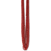 Bulk Party Beads - Small Round - Red Wholesale Bulk