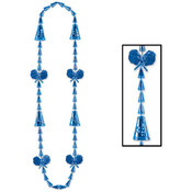 Cheerleading Beads - Blue Wholesale Bulk