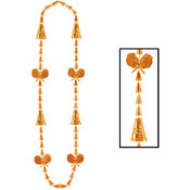 Cheerleading Beads - Orange Wholesale Bulk