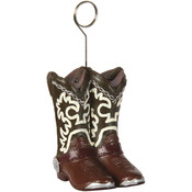 Cowboy Boots Photo/Balloon Holder Wholesale Bulk