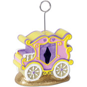 Princess Carriage Photo/Balloon Holder