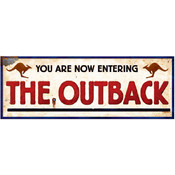 Australian Outback Sign Wholesale Bulk