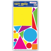 Party Shapes Peel &#39;N Place