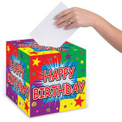 Happy Birthday Card Box
