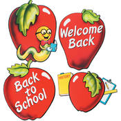 School Days Apple Cutouts Teacher Supplies