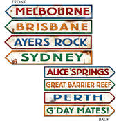 Australian Street Sign Cutouts Wholesale Bulk
