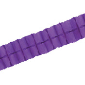Packaged Leaf Garland - Purple
