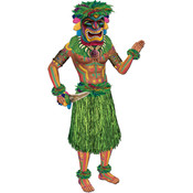 Beistle Luau Jointed Tiki Man - 3' 2 Wholesale Bulk