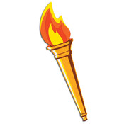 Beistle Torch Cutout Wholesale Bulk
