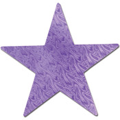 Embossed Foil Star Cutout