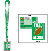Beistle Game Day Football Party Pass - 25' Wholesale Bulk