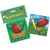 Game Day Football Coasters