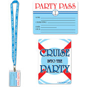 Beistle Cruise Ship Party Pass Wholesale Bulk