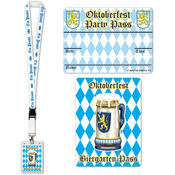 Oktoberfest Party Pass Wholesale Bulk