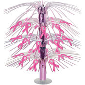 Pink Ribbon Cascade Centerpiece