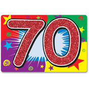 Wholesale 70Th Birthday Party Supplies - Wholesale 70Th Birthday Party Decorations - Wholesale 70Th