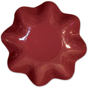 Italian Tableware - Burgundy Large Bowl