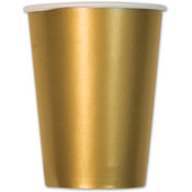 Italian Tableware - Metallic Gold Cups