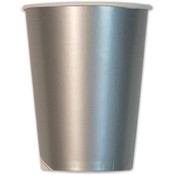 Italian Tableware - Metallic Silver Cups
