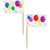 Balloons & Confetti Picks Wholesale Bulk