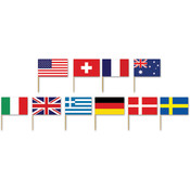International Flag Picks