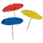 Metallic Parasol Picks