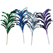 Metallic Feather Picks