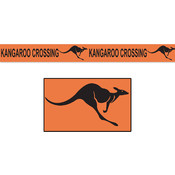 Kangaroo Crossing Poly Decorating Material Wholesale Bulk