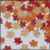 Fanci-Fetti Autumn Leaves Wholesale Bulk
