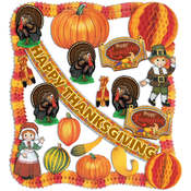 FR Thanksgiving Decorating Kit - 22 Pcs